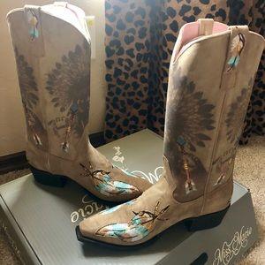 Brand New in box Miss Macie Boots